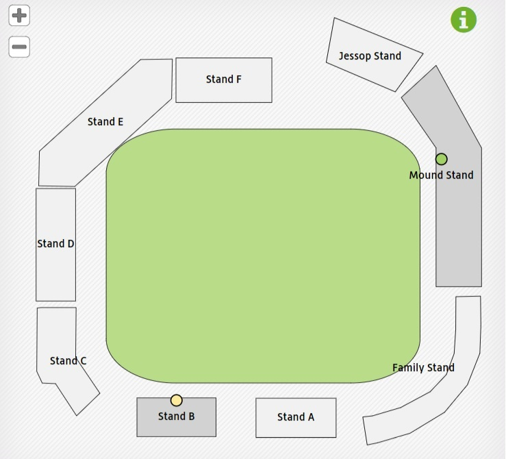 Bristol Cricket Ground Seating Map